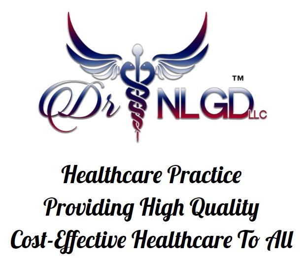 DR. NLGD LLC Healthcare Practice Logo