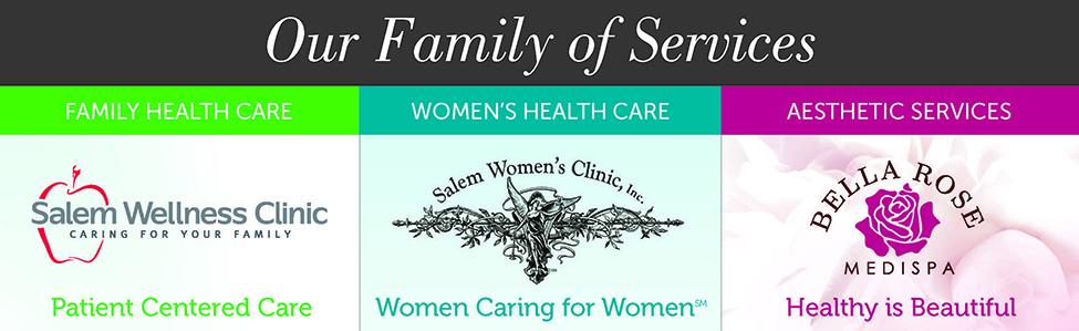 Salem Women's Clinic/Salem Wellness Clinic/BRMS Logo