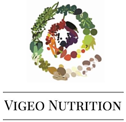 Vigeo Nutrition Logo