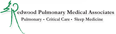 Redwood Pulmonary Medical Associates Logo